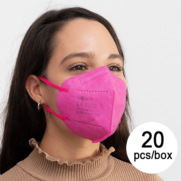 Atemschutzmaske FFP2 NR JS MY-001 Lila (20er Pack)